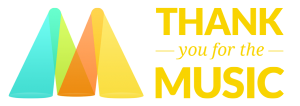thankyouforthemusic logotype